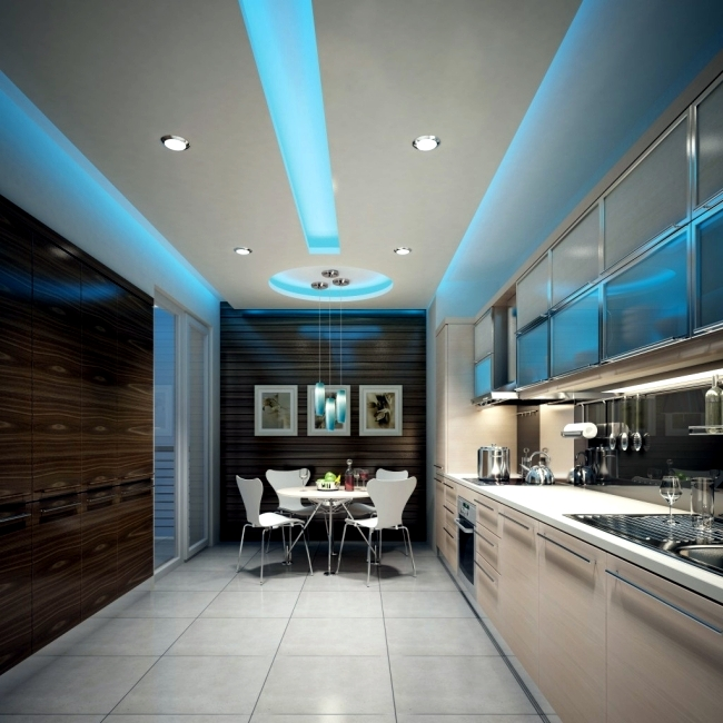 Attractive Ceiling Led Lights Design 33 Ideas For Ceiling Lighting And Indirect Effects Of Led Lighting