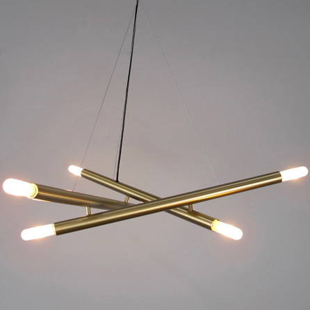 Attractive Contemporary Brass Chandelier Contemporary And Industrial Style Lighting Chandelier