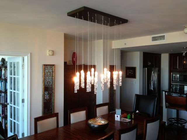 Attractive Contemporary Dining Room Ceiling Lights Twist Chandelier Contemporary Dining Room New York Shakuff