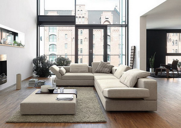 Attractive Contemporary Living Room Sofa Contemporary Living Room Furniture Modern Leather In Sets