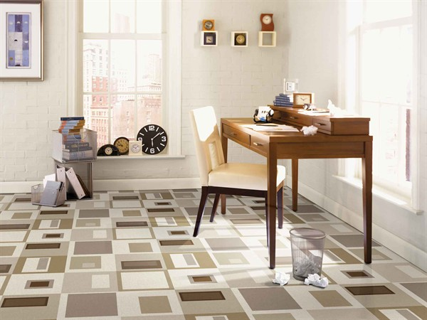 Attractive Contemporary Vinyl Flooring 5 Fun Modern Vinyl Flooring Designs From Tarkett Retro Renovation