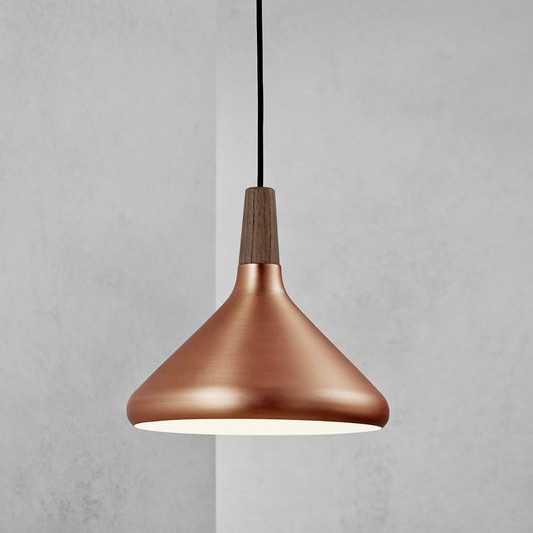 Attractive Copper Ceiling Light Nordlux Float 27 Ceiling Pendant Light Brushed Copper Pendant