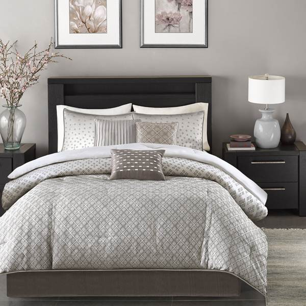 Attractive Designer Contemporary Bedding Bedroom Awesome Shop Madison Park Biloxi Bed In A Bag Set The Home