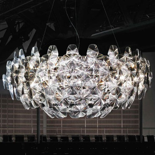 Attractive Extra Large Chandelier Luceplan Hope Chandelier Extra Large D66105 Stardust