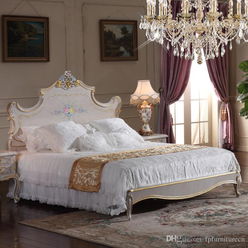 Attractive High End Beds 2018 High End Classic Furniture Bedroom Baroque Style Queen Bed