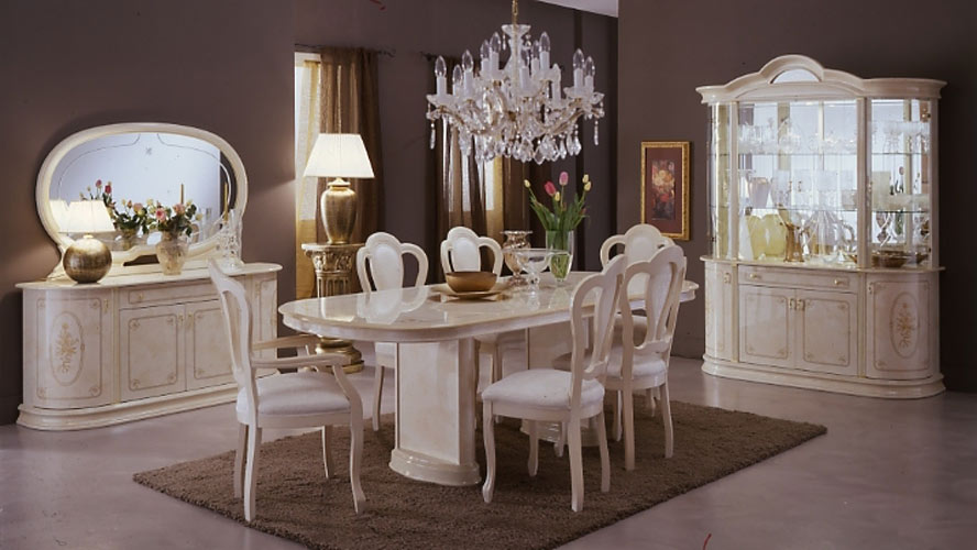 Attractive Italian White Dining Table Italian Dining Room Sets Fantastic Table With Furniture 2 Modern