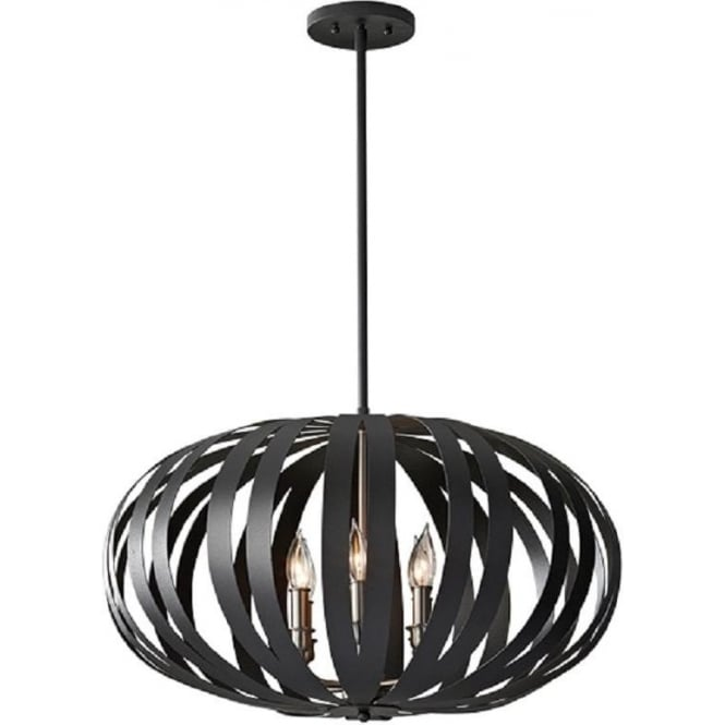 Attractive Large Ceiling Pendant Large Modern Ceiling Pendant Light In Textured Black Cage Design