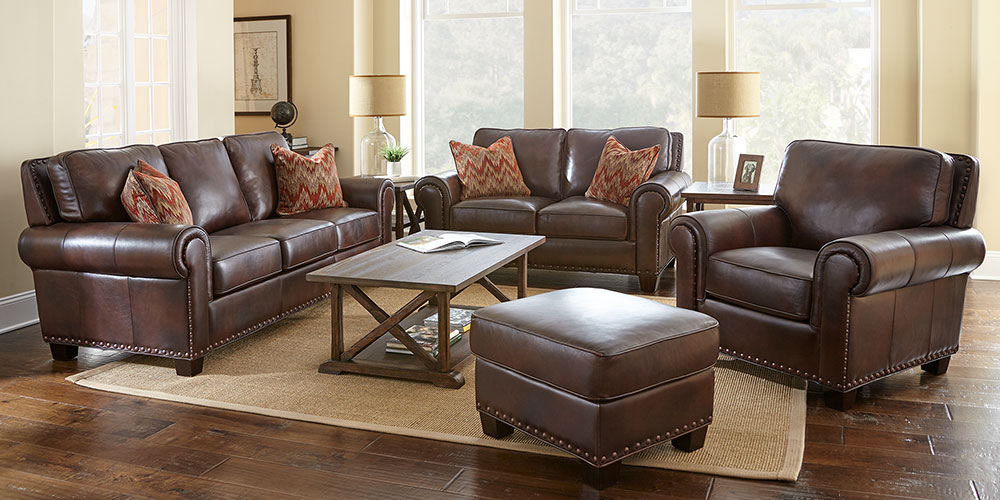 Attractive Leather Living Room Furniture Sets Living Room Sets Costco