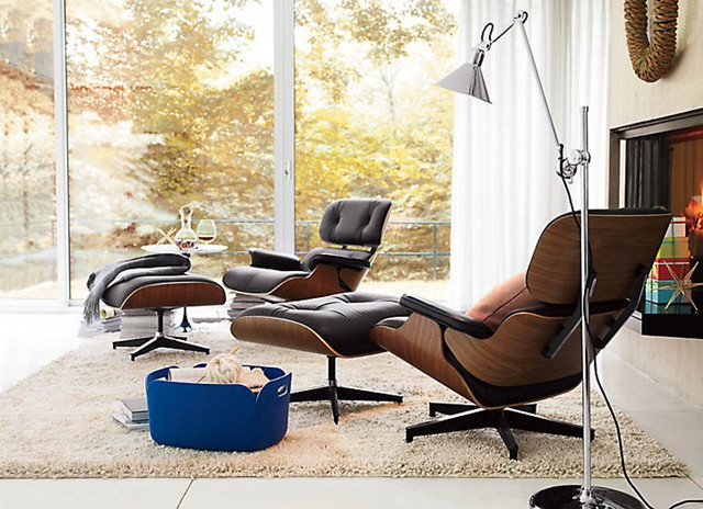 Attractive Living Room Lounge Chair Eames Lounge Chair Modern Living Room Vancouver Rove
