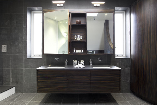 Attractive Luxury Bathroom Storage Cabinets I Love The Mirrored Storage Cabinet Is It Retail Or Custom Made