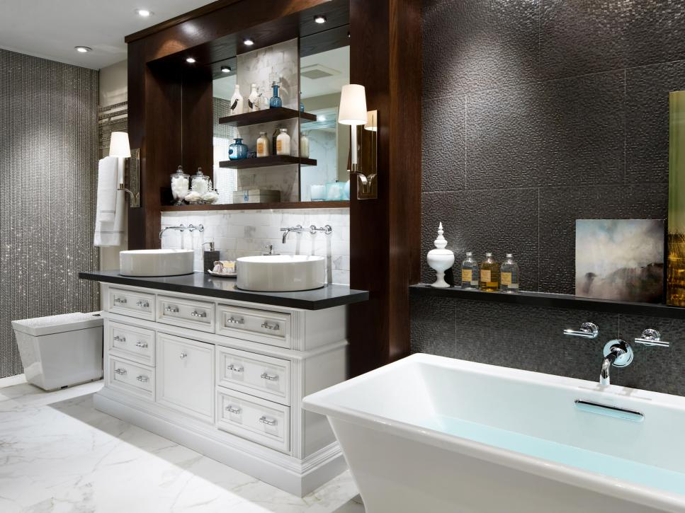 Attractive Luxury Bathroom Tiles Designs 20 Luxurious Bathroom Makeovers From Our Stars Hgtv