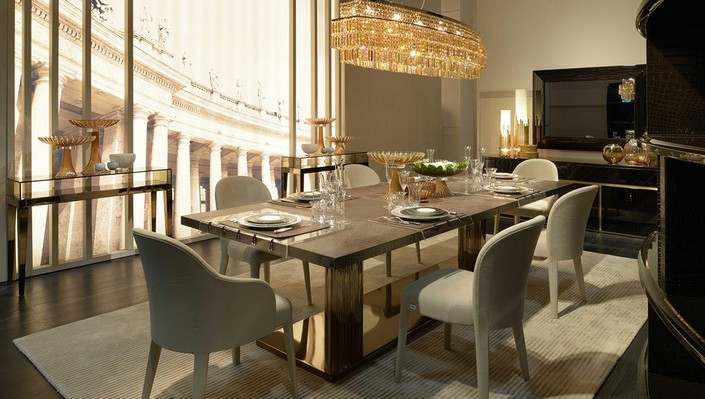 Attractive Luxury Dining Room Ideas Luxury Dining Table Ispcenter
