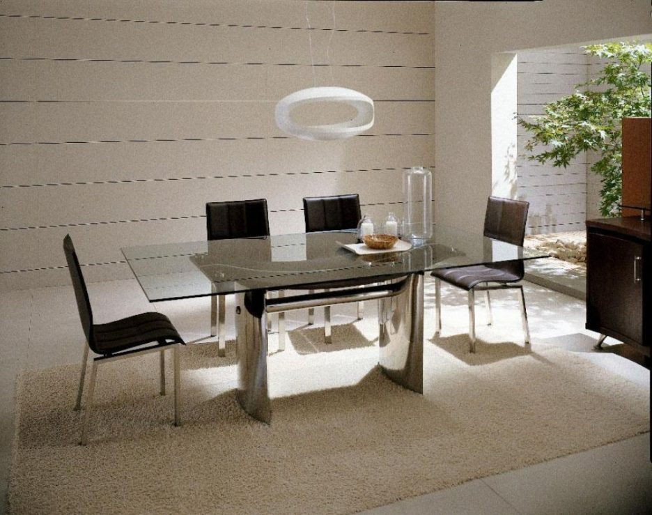 Attractive Luxury Glass Top Dining Tables Dining Tables Luxury Glass Top Dining Table Design Italian Style