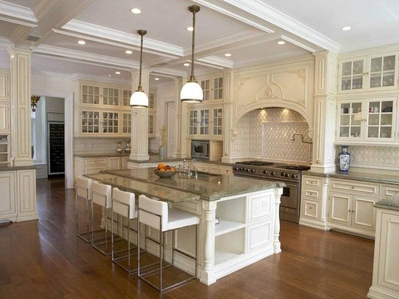 Attractive Luxury Kitchen Hoods 30 Custom Luxury Kitchen Designs That Cost More Than 100000