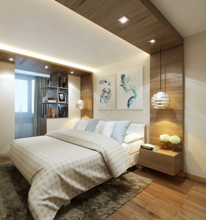 Attractive Modern Bedroom Wall Designs Small Bedroom With Window Mesmerizing Modern Wall Paneling Designs