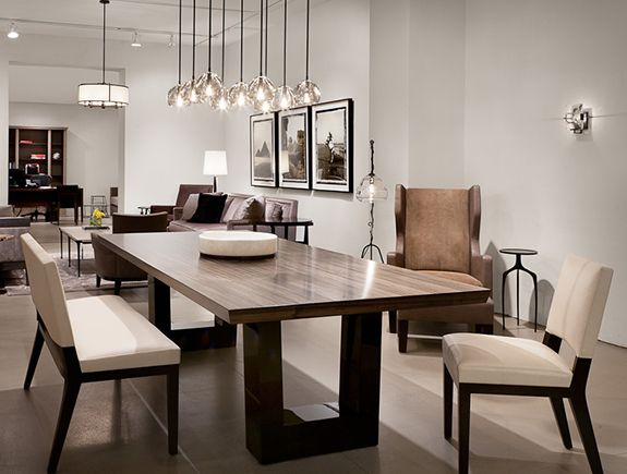 Attractive Modern Dining Room Tables Best 25 Contemporary Dining Benches Ideas On Pinterest Large