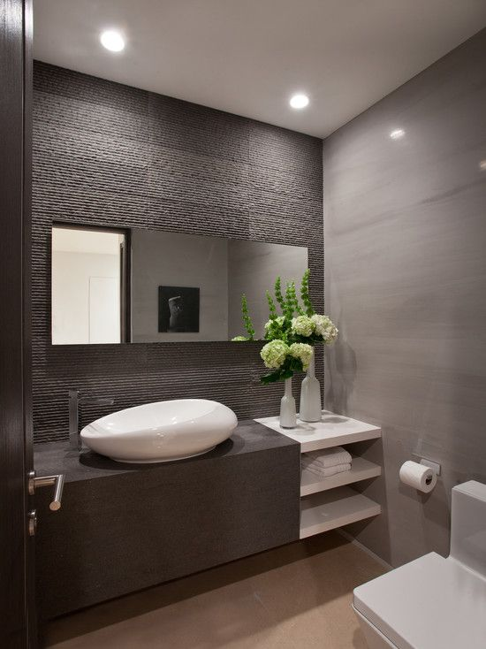Attractive Modern Restroom Design Best 25 Modern Bathrooms Ideas On Pinterest Modern Bathroom