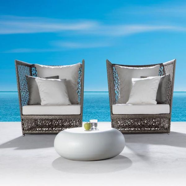 Attractive Modern White Outdoor Chairs Best 25 Modern Outdoor Furniture Ideas On Pinterest Outdoor
