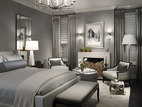 Attractive Small Luxury Bedroom Bedroom Luxury Bedroom Curtains Modest On Intended For Grey Wall