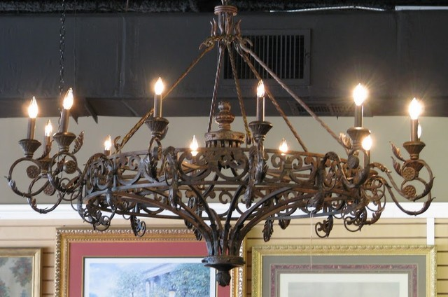 Attractive Wrought Iron Chandeliers Appealing Rustic Chandeliers Wrought Iron Photos Best Idea Home
