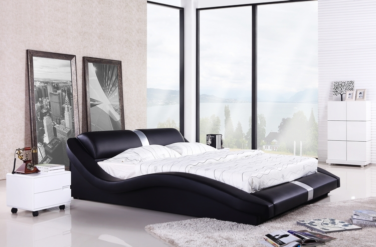 Awesome Bedroom Set Modern European Bedroom Furniture European Modern Design Top Grain Leather King