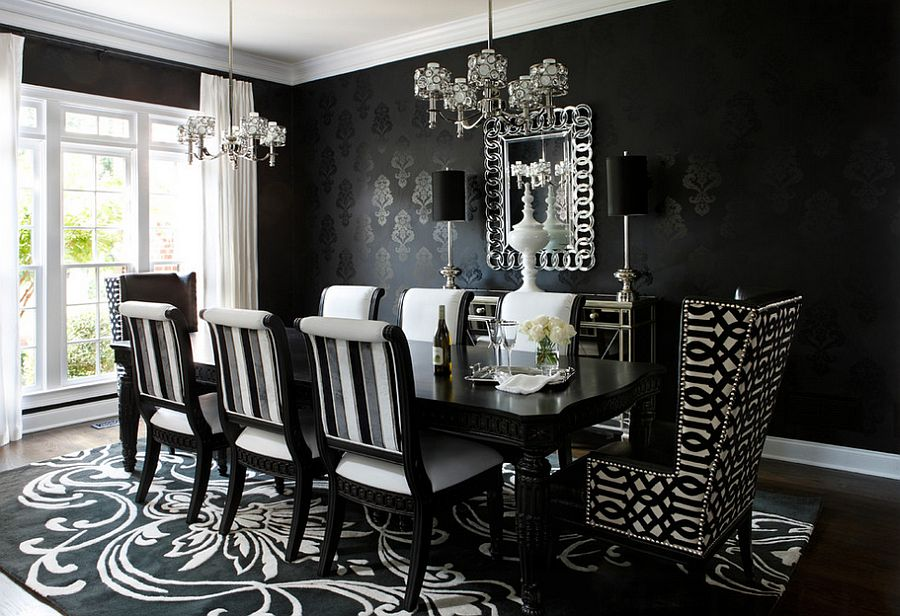 Awesome Black Chandelier Dining Room Black Chandelier Dining Room Ideas For Home Decoration Full Circle