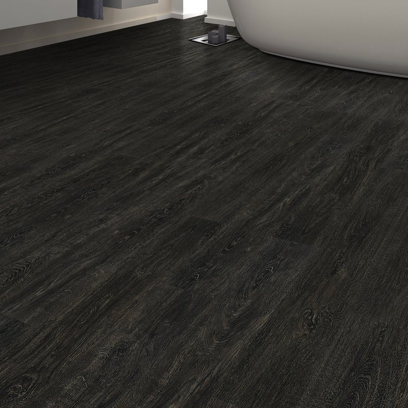 Awesome Black Vinyl Flooring Floating Vinyl Flooring Youll Love Wayfair
