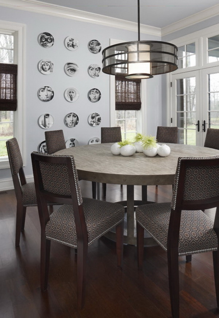 Awesome Contemporary Round Dining Table For 6 Contemporary Round Dining Room Tables Dining Room Awesome Solid
