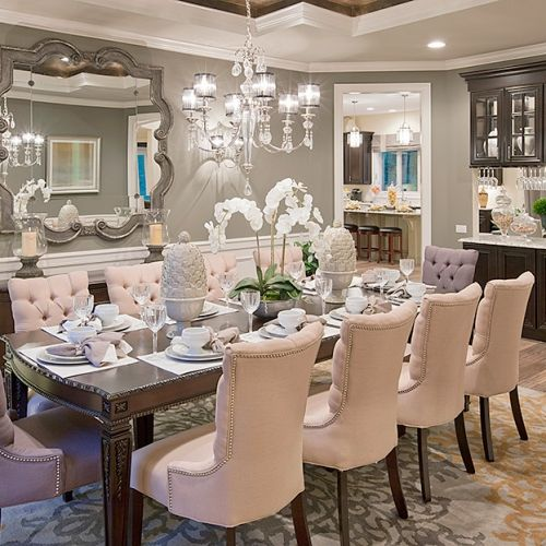 Awesome Elegant Dining Rooms Best 25 Elegant Dining Room Ideas On Pinterest Dinning Room