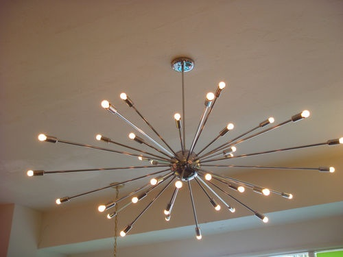 Awesome Extra Large Contemporary Chandeliers Extra Large Chrome Atomic Sputnik Starburst Light Fixture Large