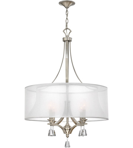 Awesome Fredrick Ramond Mime Chandelier Fredrick Ramond Fr45604bni Mime 4 Light 25 Inch Brushed Nickel