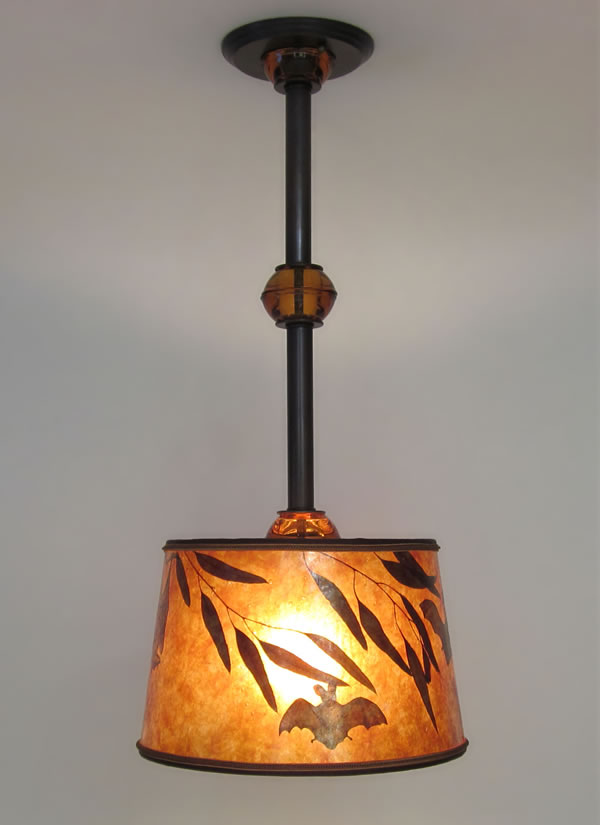 Awesome Hanging Ceiling Light Fixtures Mica Hanging Ceiling Light Fixture With Bats