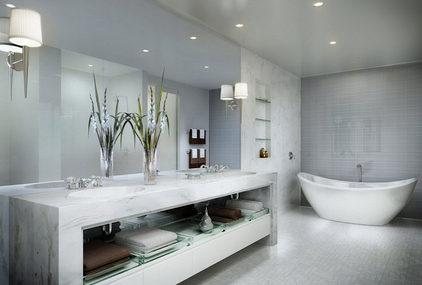 Awesome High End Bathroom Sinks Adorable His And Hers Bathroom Sink And 24 Stunning Luxury
