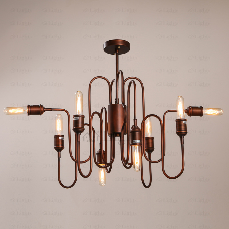 Awesome Industrial Chandelier Lighting Country Style Industrial Chandelier Lighting E26e27