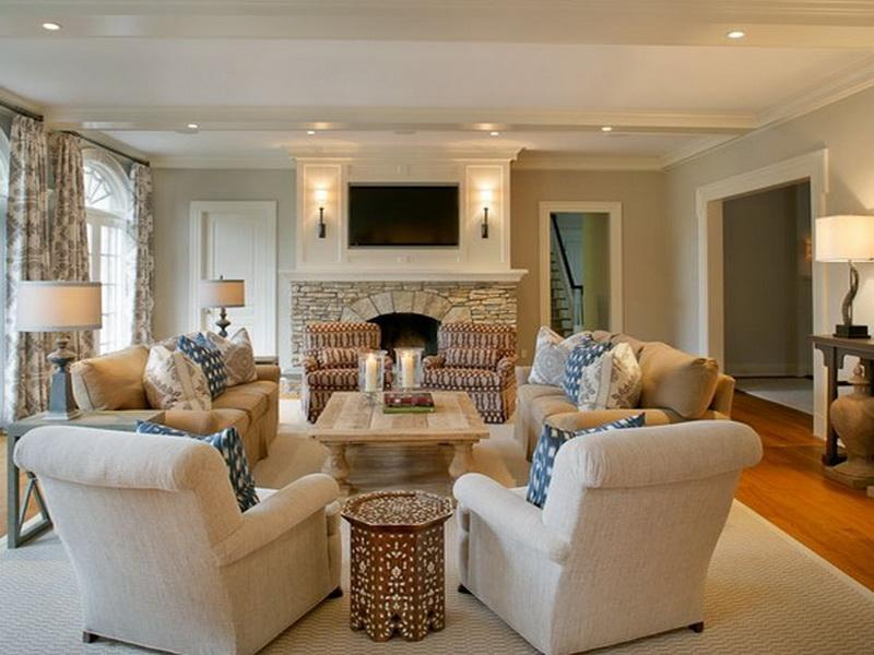 Awesome Living Room Furniture Layout Traditional Arranging Living Room Furniture Desjar Interior