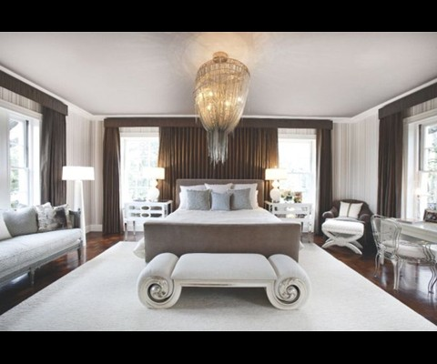 Awesome Luxury Bedrooms Interior Design The Barlas Baylar Chandelier From Hudson Furniture Casts A