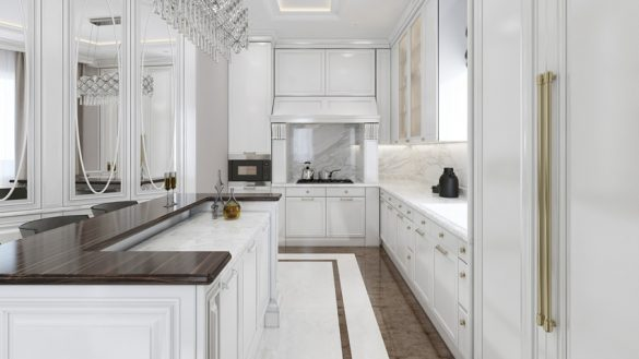 Awesome Luxury Galley Kitchen Likeable Best 25 White Galley Kitchens Ideas On Pinterest Kitchen