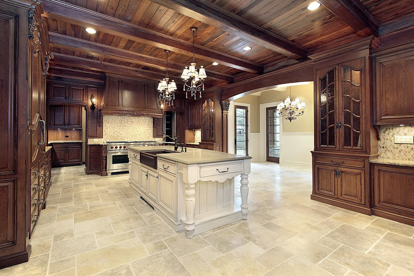 Awesome Luxury Kitchen Flooring Luxury Kitchen Ideas Counters Backsplash Cabinets Designing
