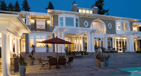 Awesome Luxury Outdoor Lighting Enhance Your Home With Outdoor Lighting The House Designers