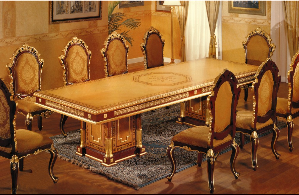 Awesome Luxury Wooden Dining Tables Endearing Luxury Dining Tables Because Classic Dining Tables Are