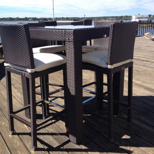 Awesome Outdoor High Top Table Furniture Design Ideas Top Outdoor Furniture Wood Sample Detail