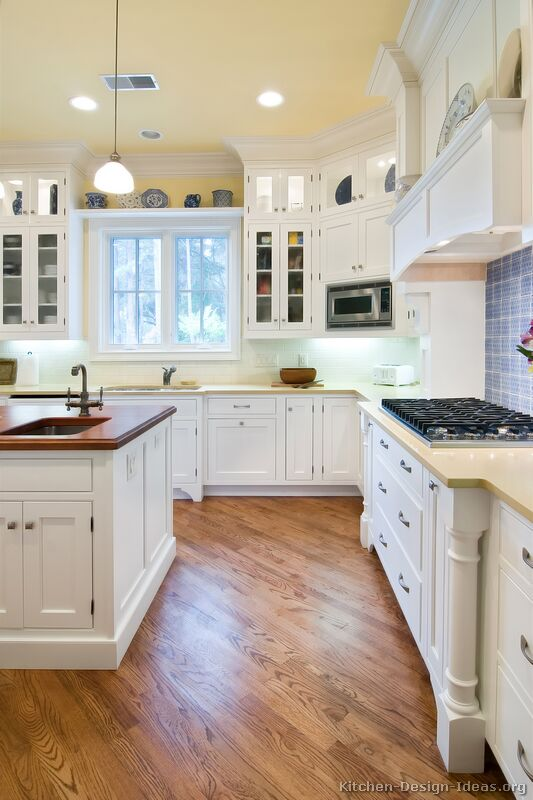 Awesome White Kitchen Cabinets Pictures Of Kitchens Traditional White Kitchen Cabinets