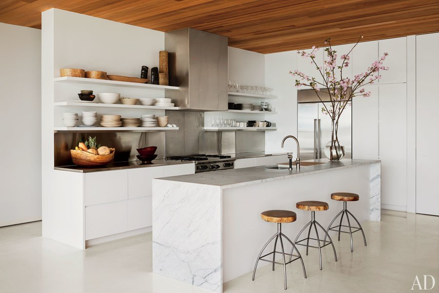 Awesome White Kitchen Designs White Kitchens Design Ideas Photos Architectural Digest