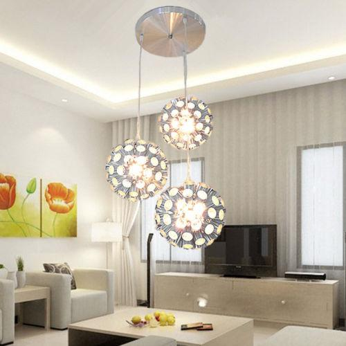 Beautiful Ball Chandelier Light Aluminum Honeycomb Ball Ceiling Pendant Lamp Chandelier Light