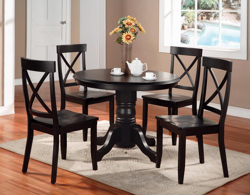 Beautiful Black Dining Room Chairs Black Dining Table And Chairs Coredesign Interiors