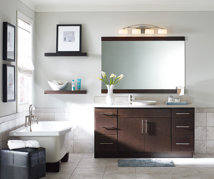 Beautiful Contemporary Bathroom Cabinets Contemporary Bathroom Vanity Homecrest Cabinetry
