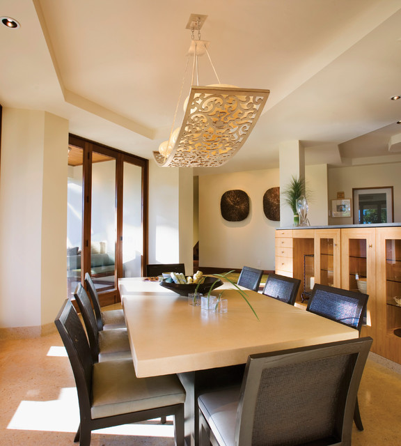 Beautiful Contemporary Dining Lighting Corbett Lighting