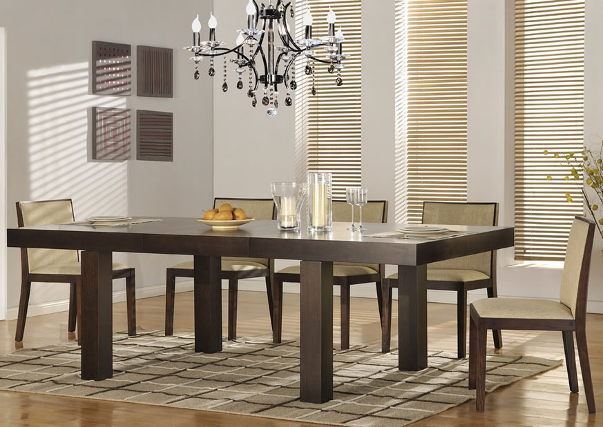 Beautiful Contemporary Dining Room Tables Contemporary Dining Chairs Creating Modern Interior Nuance Traba