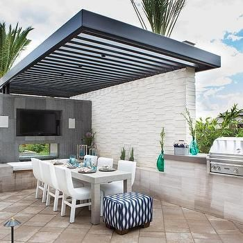 Beautiful Contemporary Patio Ideas Pergola Corrugated Roof Design Pictures Remodel Decor And Ideas