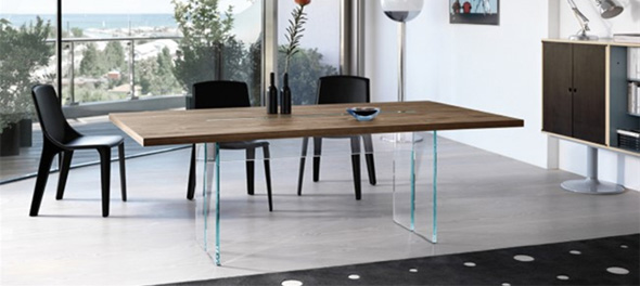 Beautiful Contemporary Wood Dining Table Dining Tables Contemporary Dining Tables Ultra Modern